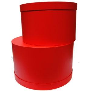 Красная шляпная коробка