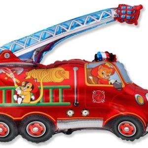 Шарик Пожарная машина