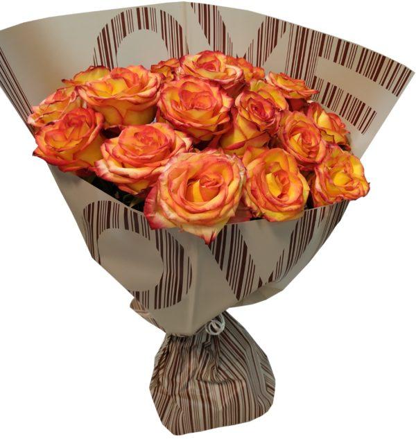 buket iz 15 roz